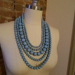 """Buablebar Turquoise """"Globe"""" Necklace"""